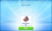 Ba-san fransokyo city-gift