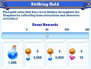 Me-striking gold-10-milestones