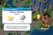 Q-welcome a demigod