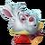 C-white rabbit