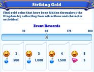 Me-striking gold-3-milestones