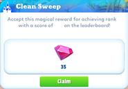 Me-clean sweep-1-prize