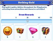 Me-striking gold-25-milestones
