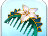 Lotus Hairpiece Token