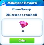Me-clean sweep-1-milestone