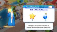 Q-visit a friends kingdom