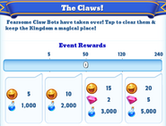 Me-the claws-1-milestones