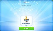 D-bronzed briar rose-gift