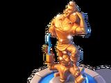 Gaston Statue