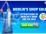 Merlin's Shop Sales