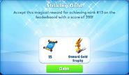 Me-striking gold-75-prize