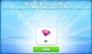 Me-minnie rocks the dots-1-prize