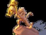 Lion King Statue