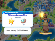 Q-welcome a voyagers mom
