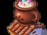 Ceramic Cup Hot Chocolate Stand