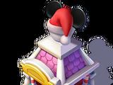 Santa Mickey Hat Stand