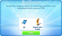 Me-striking gold-76-prize