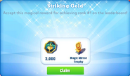 Me-striking gold-35-prize