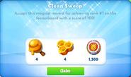 Me-clean sweep-6-prize
