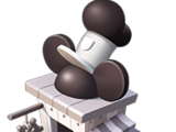 Steamboat Willie Hat Stand
