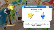 Q-welcome a thief