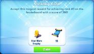 Me-striking gold-73-prize