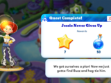 Jessie Never Gives Up