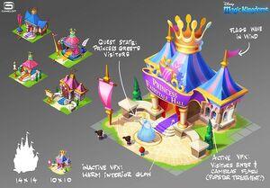 Disney Magic Kingdoms ConceptArt FairytaleHall