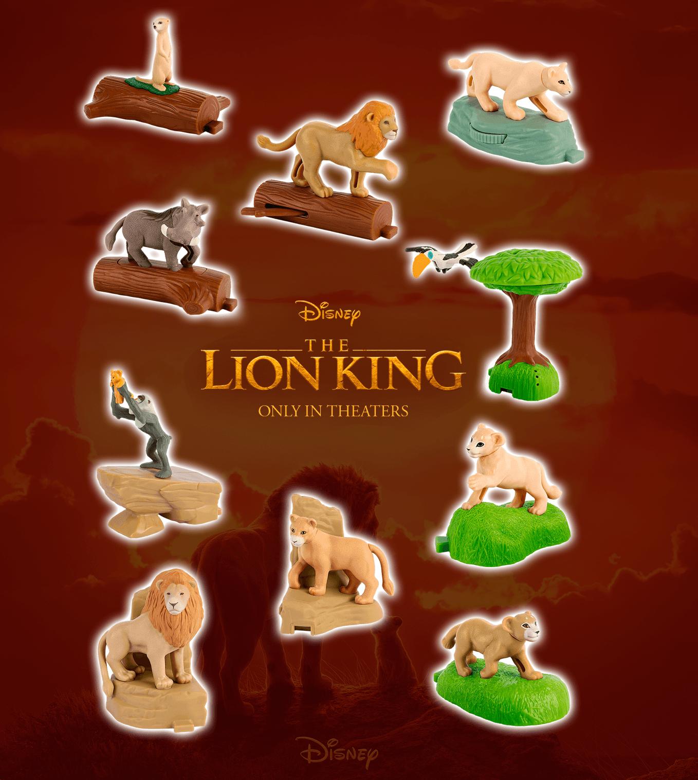 The Lion King Mcdonald S Collection 2019 Disney Merchandise Wiki Fandom