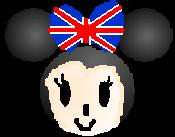 DisneyMinisUnionJackMinnie
