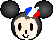 DisneyMinisParisianMickey