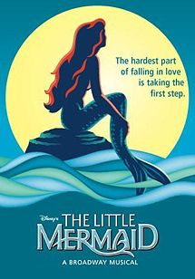 The Little Mermaid Musical Poster