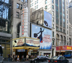 New Amsterdam Theatre Mary Poppins 2007 NYC