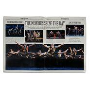 Newsies The Broadway Musical Program 2