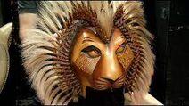 Simba's mask
