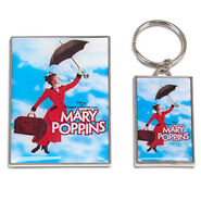 Mary Poppins The Broadway Musical Keychain and Magnet Set