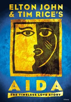 Aida Broadway logo