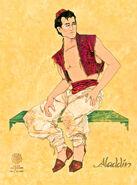 Aladdin Broadway Costume Concept Art Aladdin