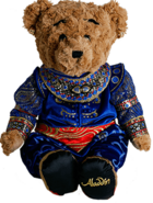Aladdin the Broadway Musical - Plush Genie Bear