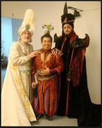 Backstage Jafar