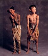 Young Simba and Young Nala