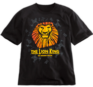 The Lion King the Broadway Musical - Sun Logo T-Shirt for Adults