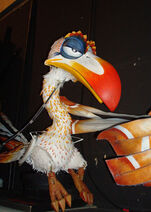 Zazu puppet