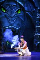 Aladdin in the Cave of Wonders Broadway