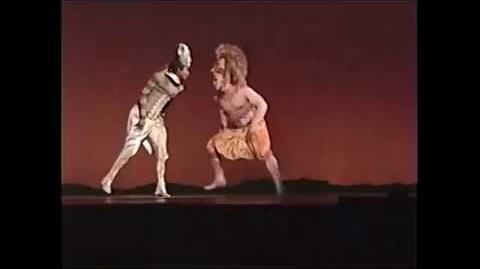 THE LION KING(musical) - Simba and Nala reunite