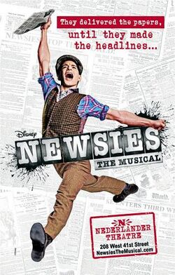 Newsies (musical) poster
