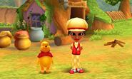 Winnie the Pooh and Mii Photos