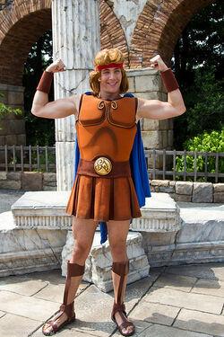 Disneyland Characters Hercules
