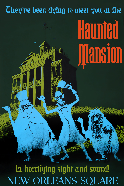 Haunted Mansion Disneyland Park Disney Parks Wiki Fandom