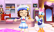 DMW2 - Mii and Daisy Duck